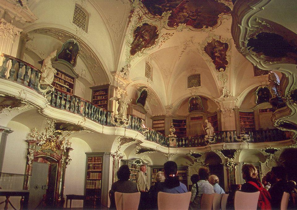 Bibliothek Klster St. Peter