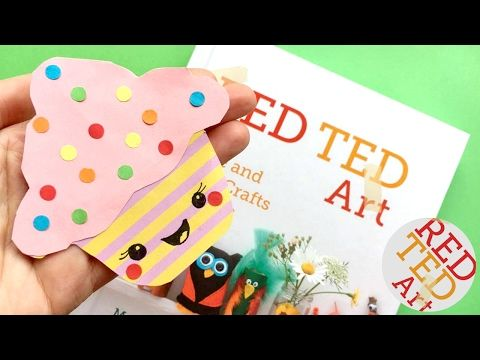 Fun Origami Cupcakes Paper Folding Crafts #01 - YouTube | 360x480
