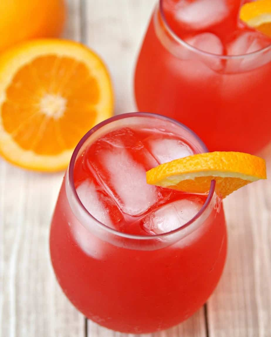 Hurricane Punch #alcoholpunchrecipes
