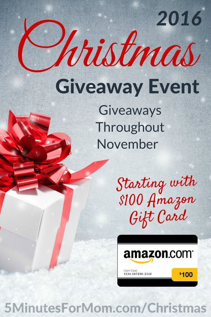 Christmas giveaway event 2016 christmas giveaways