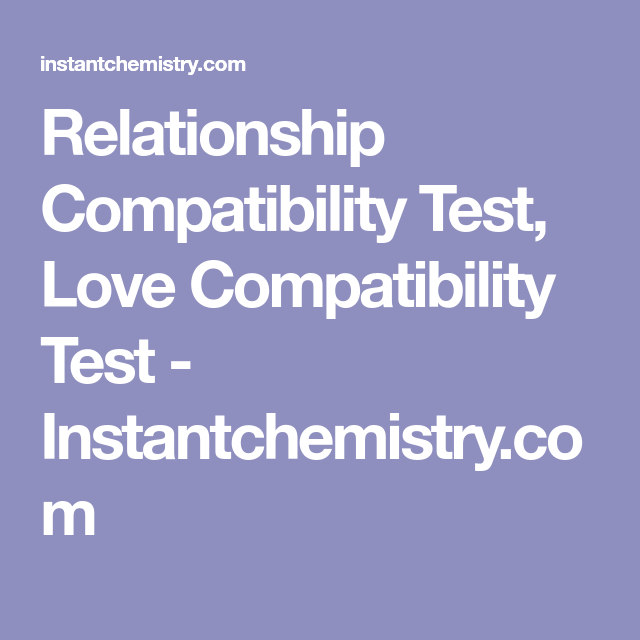 love compatability test