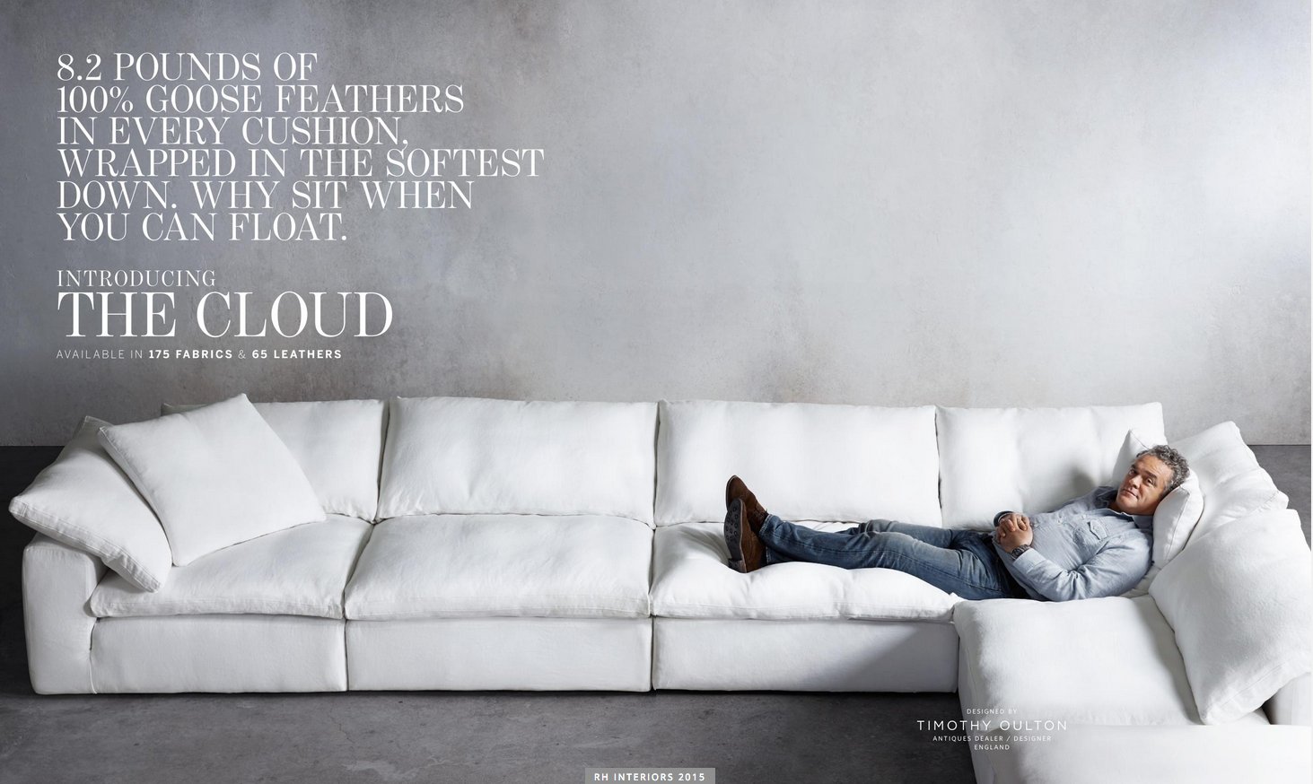 Gotta Have It Restoration Hardware The Cloud Sectional Sofa Dd