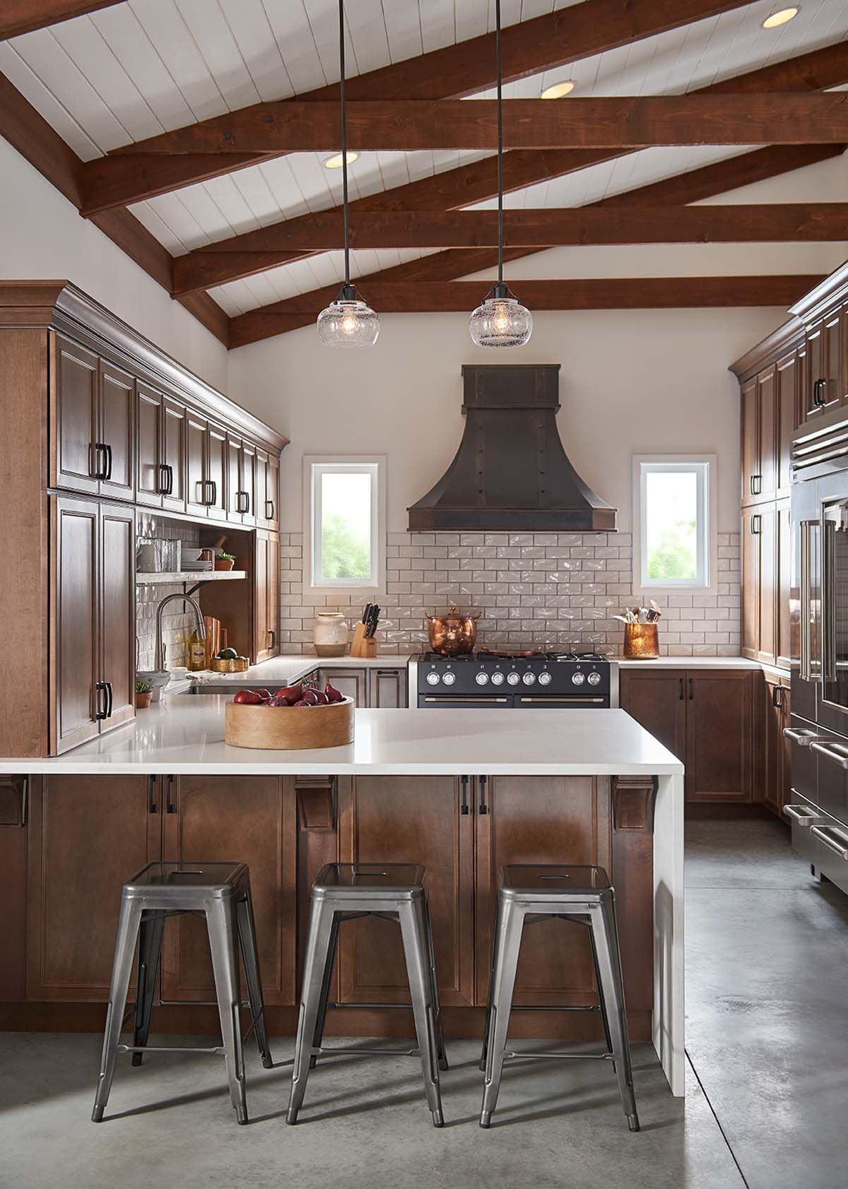 Designing With Maple Truffle in 2019 | Maple kitchen ... on Maple Cabinet Kitchen Ideas  id=33474
