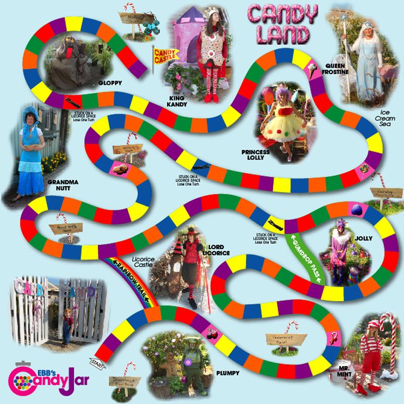 CandyLand General Design Chris Creamer's Sports Logos