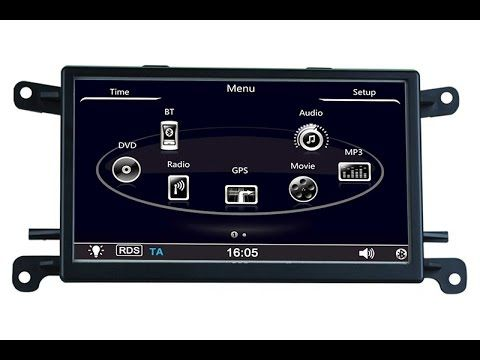 Audi Q5/A5 GPS navigation system upgrade - with installation