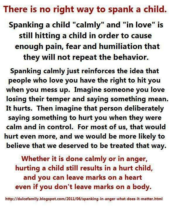 Different ways to spank