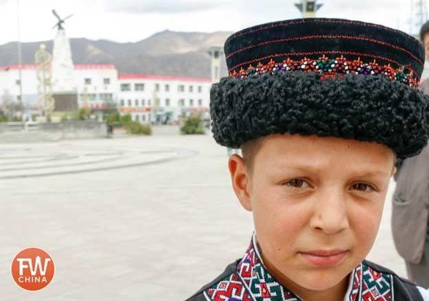 000 Tajik Boy from Tashkurgan, China. Folk art, Culture, Folk