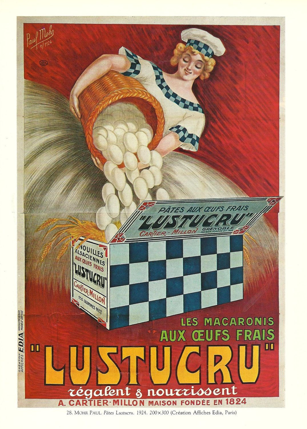 Anciennes pubs on pinterest advertising poster vintage for Cuisine ancienne