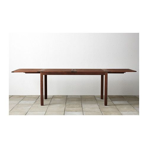 pplar table rabat ext rieur brun teint brun terrasse pinterest ikea table och. Black Bedroom Furniture Sets. Home Design Ideas