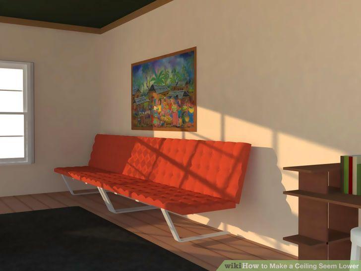 Image titled Make a Ceiling Seem Lower Step 5
