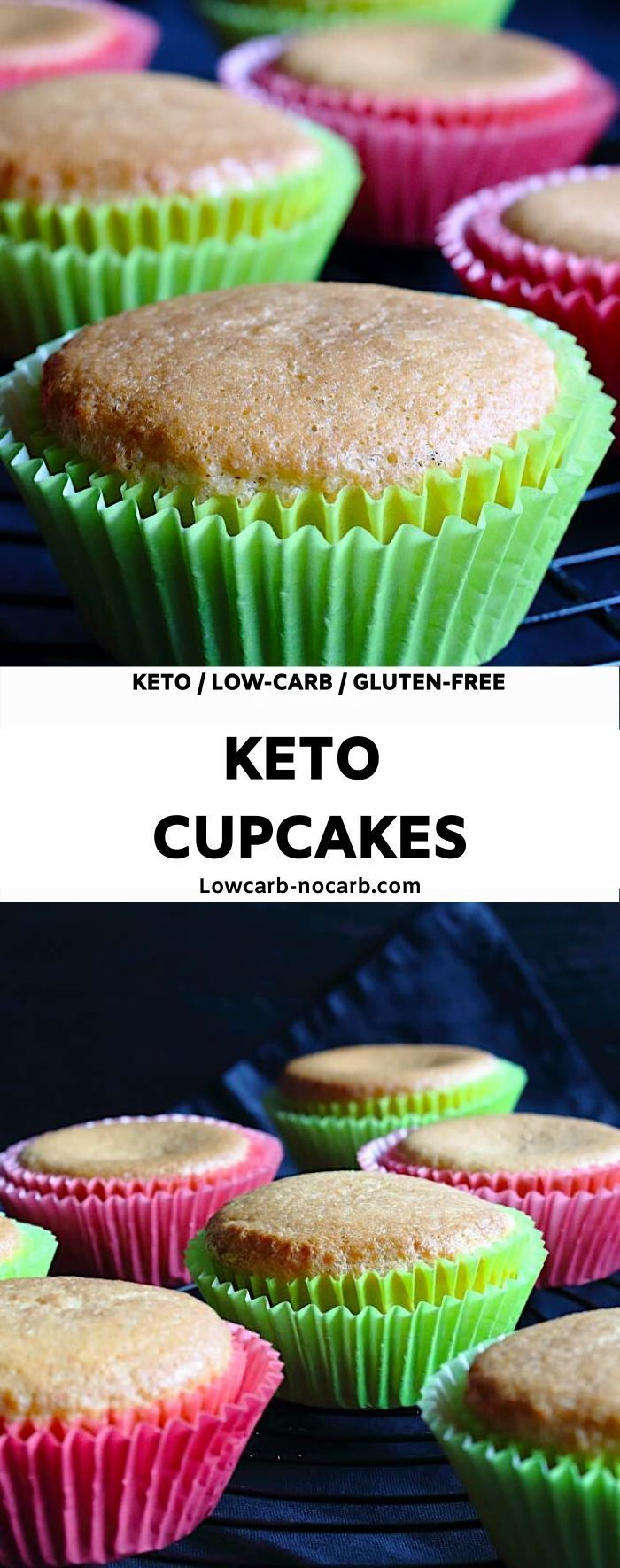 Easy Keto Cupcakes  Low Carb No Carb are perfect base Quick and Easy Keto Cupcakes everyone will love Low Carb and Sugarfree Dessert you have to make on a weekly basis Pe...