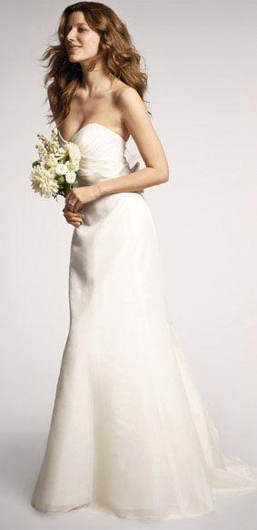 Silk organza wedding gown pretty good   wedding dress   Pinterest ...