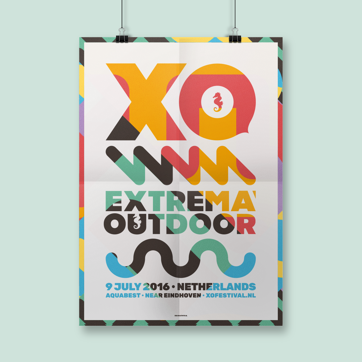 Poster For Extrema Outdoor The Netherlands 2016. Atelier