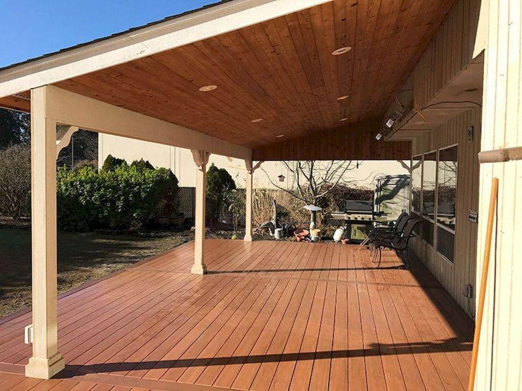 Best 5 Ideas For Covering Your Deck Covered Patio Design Patio Design Pergola