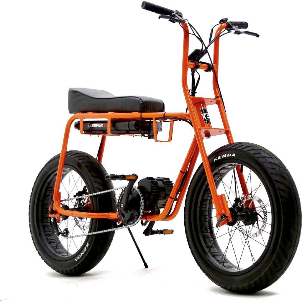 Lithium Cycles American Made Super 73 Electric Motorbike Orange