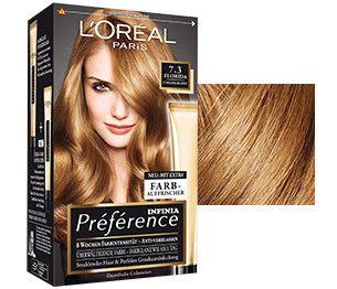 Preference 7 3 Caramelblond Mit Farb Auffrischer L Oreal Paris Loreal Paris Loreal Hair Color