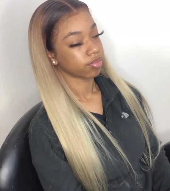 Blonde Wigs Black Women Blond Balayage Bob Blonde Highlights 2019 Blonde Hair Turned Green