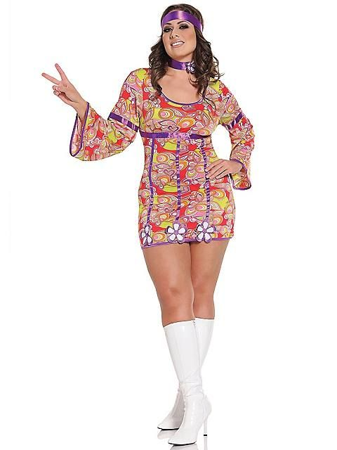 Sexy Free Love Adult Costume Plus Size Halloween costumes - halloween costume ideas plus size