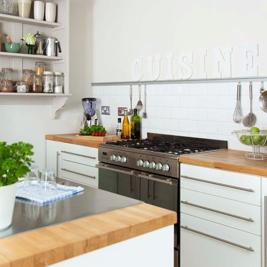 Professional-look range cooker | Contemporary kitchen ideas ...