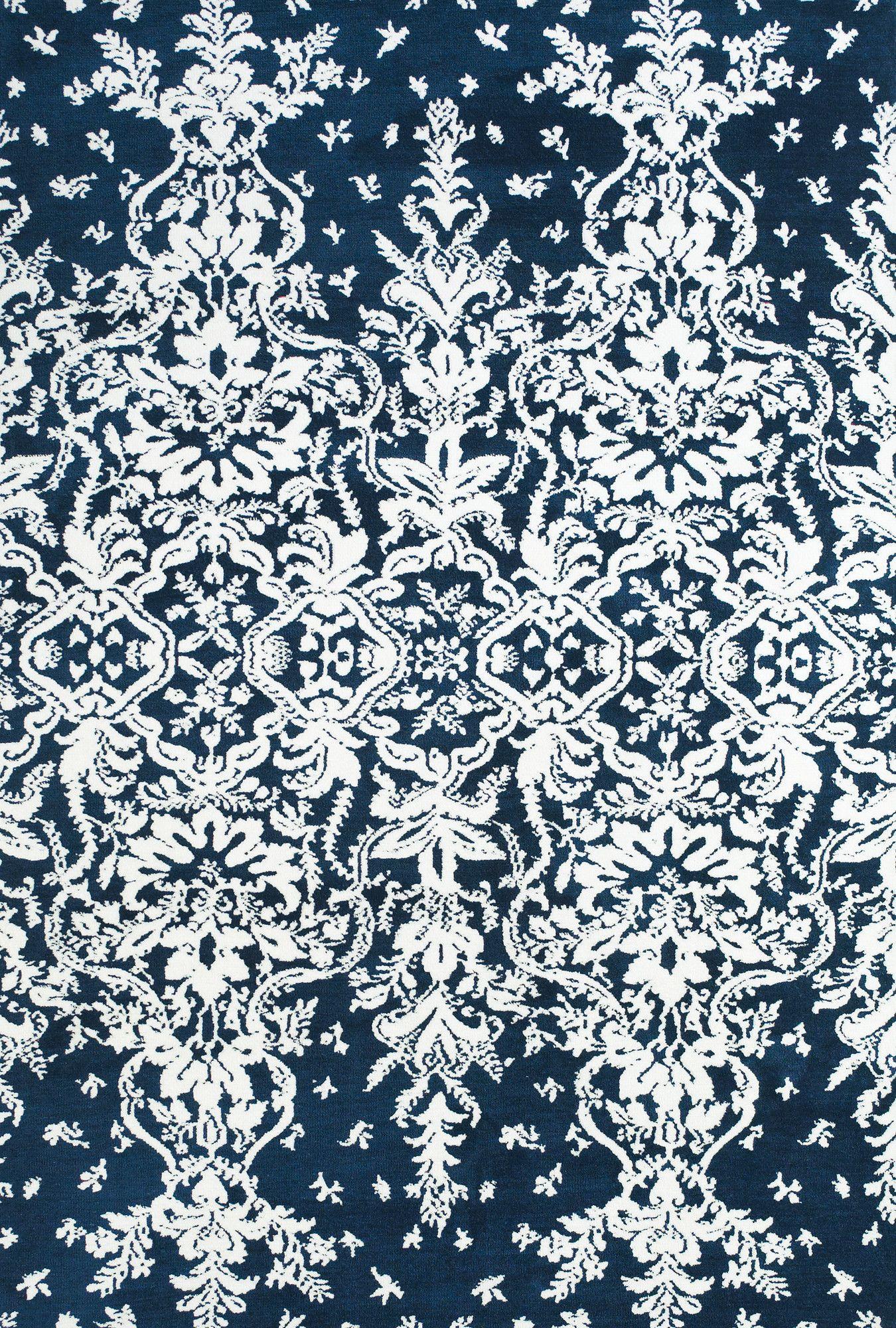 Feizy Carina Blue White Area Rug Reviews Wayfair