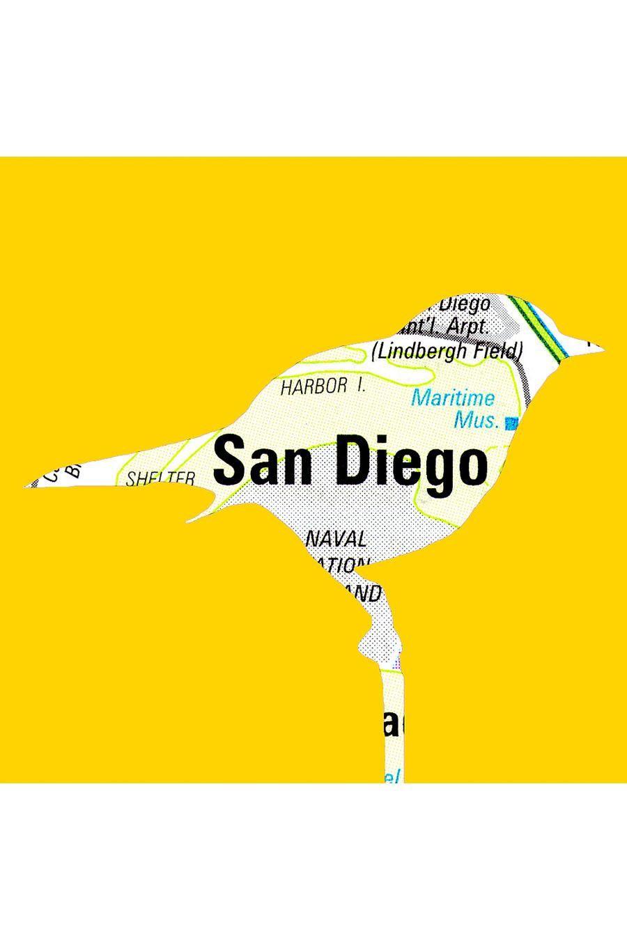 San Diego print.