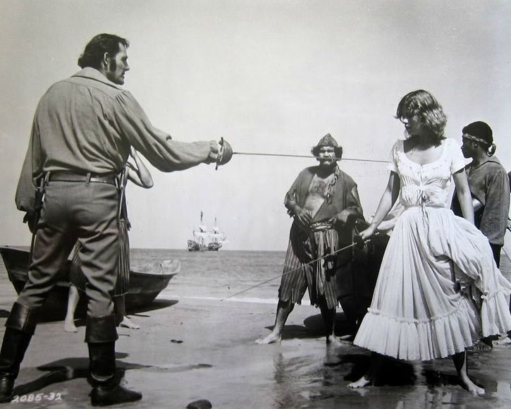 Genevieve Bujold had great great chemistry with Swashbuckler star ...