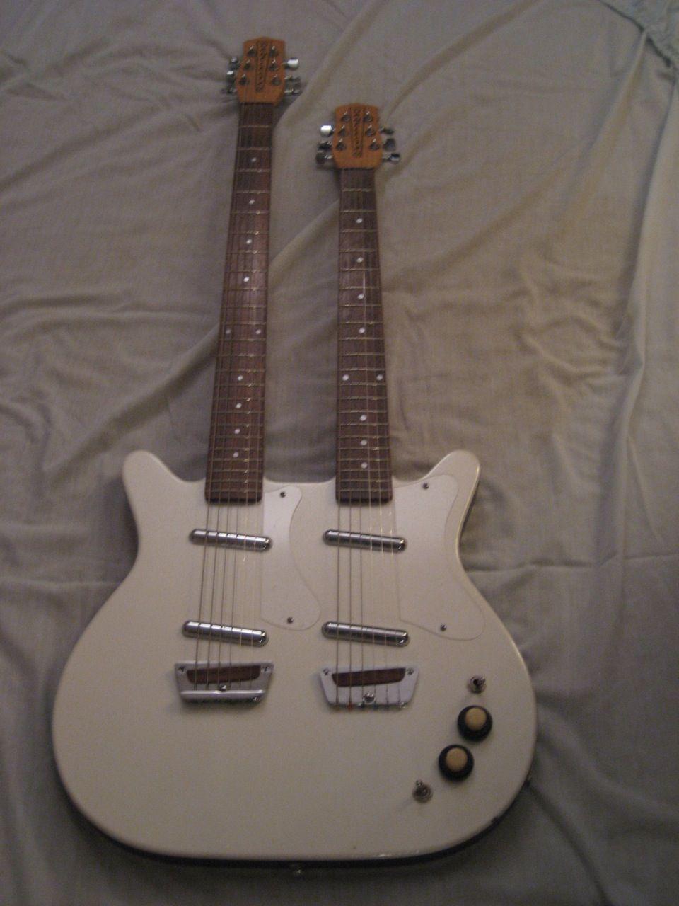 Danelectro Baritone 3 dual neck | Guitar, Guitar pics ...