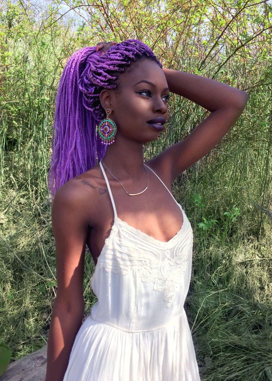 Dani Lets Talk Hair The Beautiful Color Of Lilac Purple