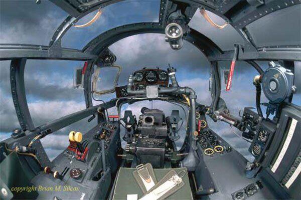 Ar 234 操縦室