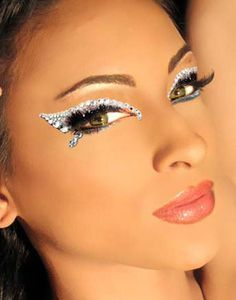 butterfly women\'s face make-up | Fairy\'s Beauty Tips | Pinterest ...