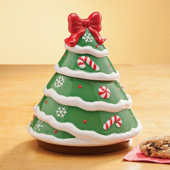 Christmas Cookie Jars On Sale Ceramic Christmas Tree Cookie Jar