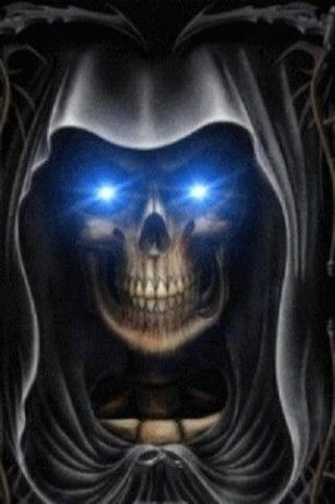 Evil Eyed Grim Reaper Lwp For Android Grim Reaper Grim Reaper Art Reaper