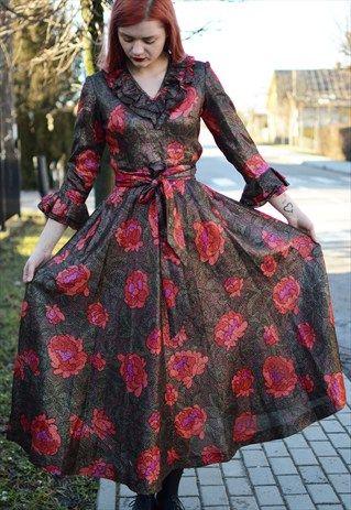 VINTAGE 70S' SPARKLING DRESS