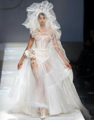 Jean Paul Gaultier Bridal Dresses