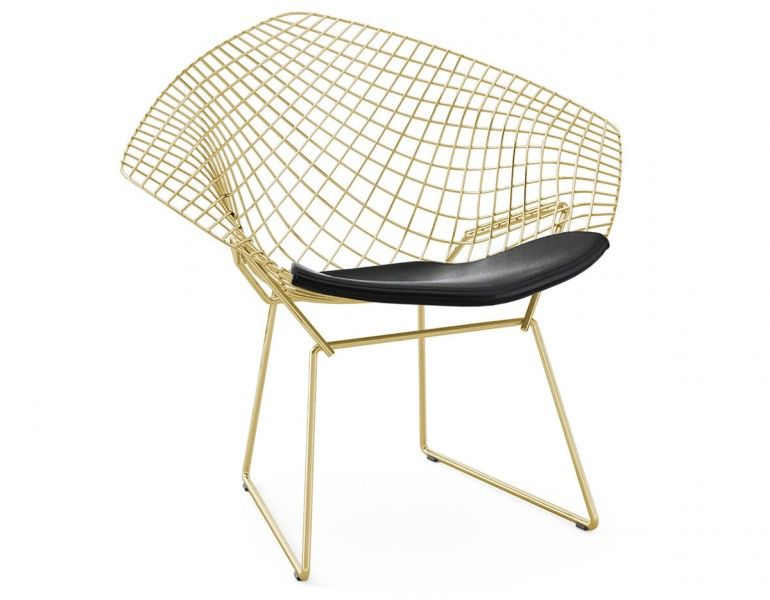 Harry Bertoia Gold Diamond Chair Knoll 1