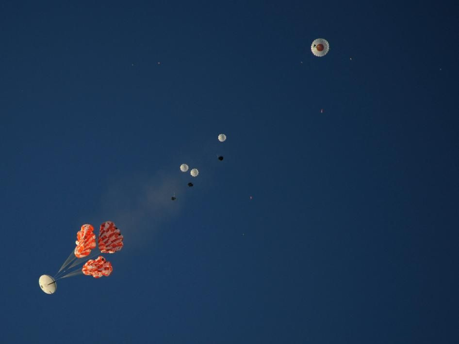 NASA - Orion Parachutes