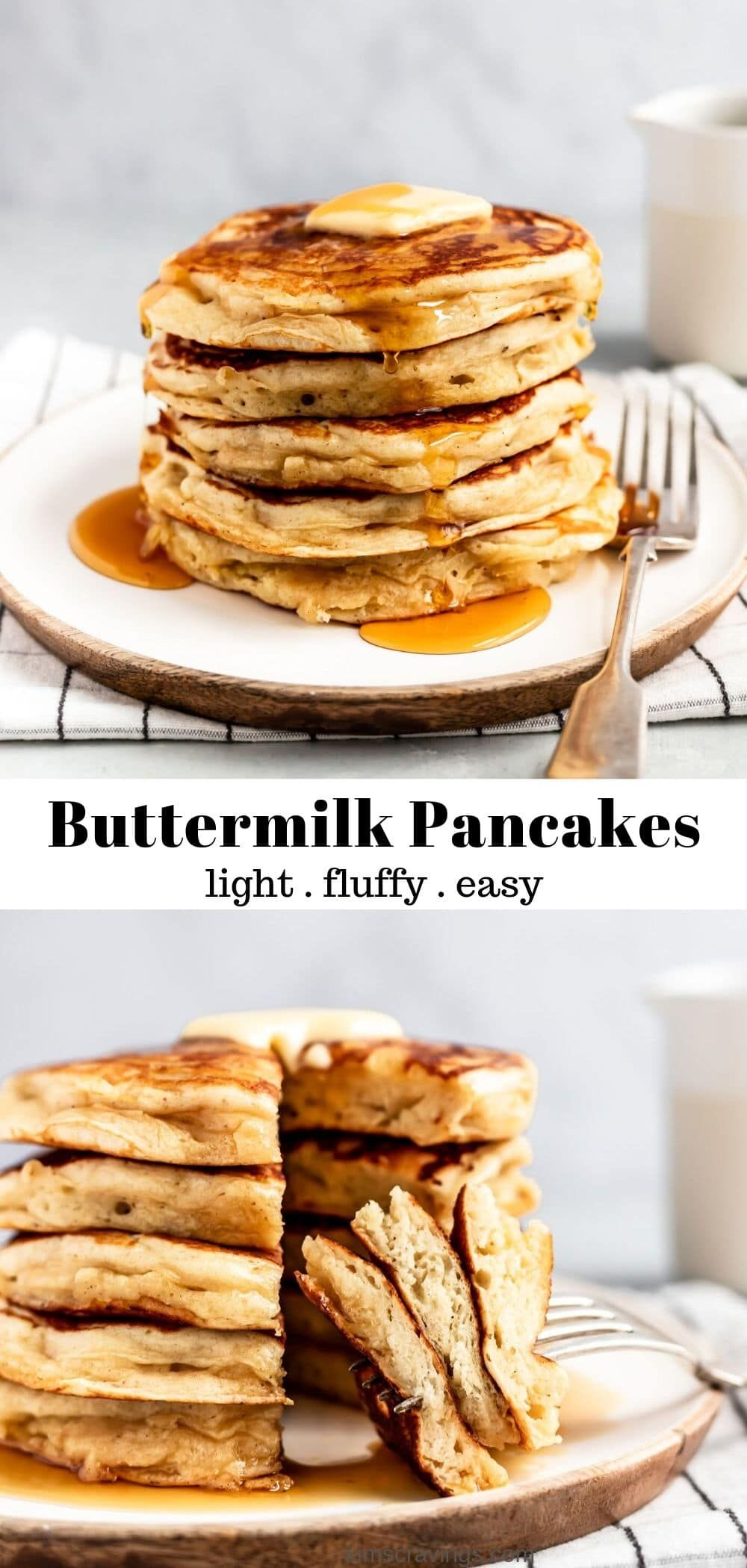 This Recipe For The Best Buttermilk Pancakes Is A Breakfast Delight Of Light Fluffy And Absol Buttermilk Pancakes Buttermilk Recipes Pancake Recipe Buttermilk