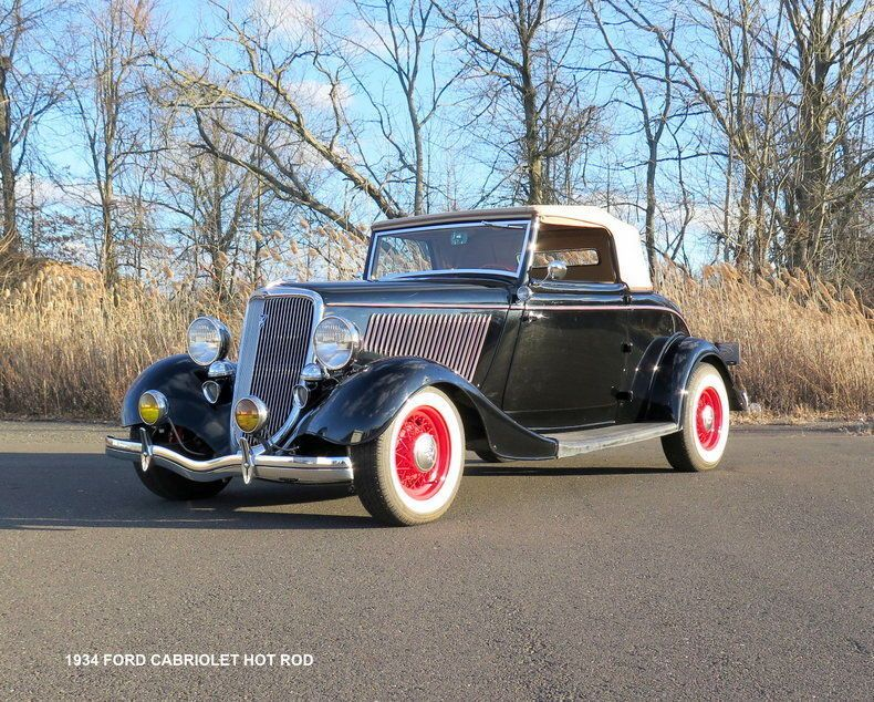 1934 Ford Rumbleseat old school hot rod | Hot rods for sale ...