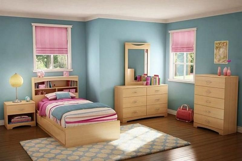 15 Adorable Pink And Blue Bedroom For Girls Rilane Kids Bedroom Paint Twin Bedroom Sets Girls Bedroom Paint