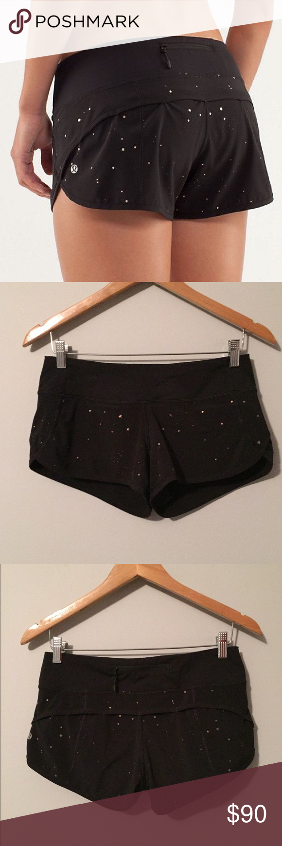 Selling this Lululemon twinkle speed shorts on Poshmark! My username is: lnation818. #shopmycloset #poshmark #fashion #shopping #style #forsale #lululemon athletica #Pants