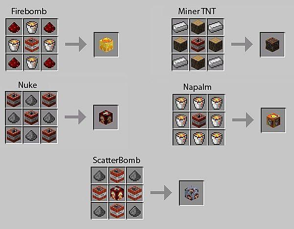 how to make items in minecraft | TNT Mod 1.4.7 Minecraft 1.4.7 | Download Minecraft