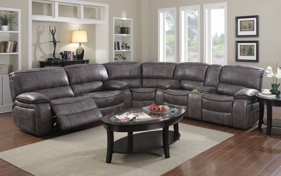 Stanton Collection 4500 Grey Reclining Sectional Reclining