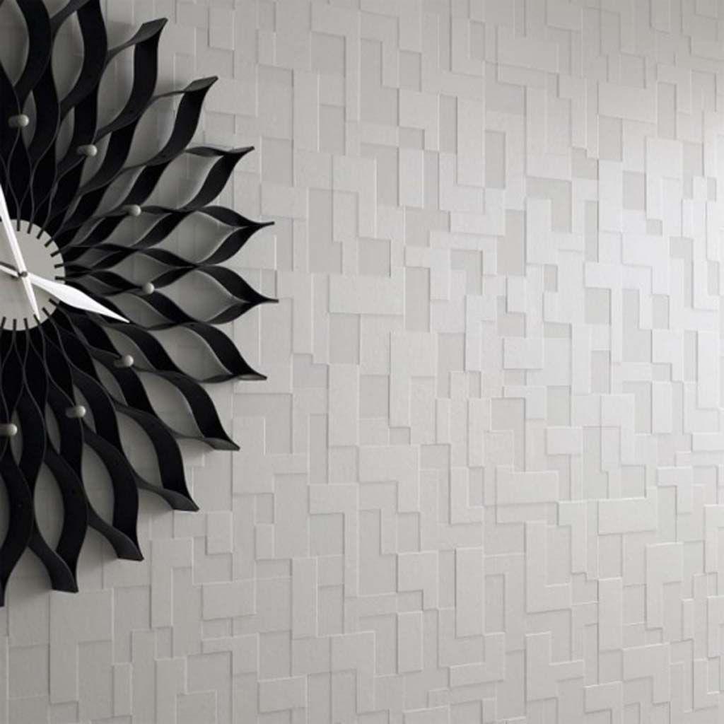 Modern Wallpaper Design1 555x555 3d Effect Monochromatic