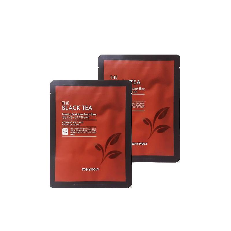 Gift The Black Tea London Classic Mask Sheet Set Of 2 In 2020 Black Tea Tea Tea Companies