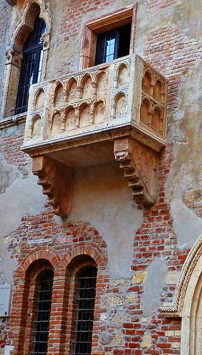 Balcone di Romeo e Giulietta a Verona (avec images