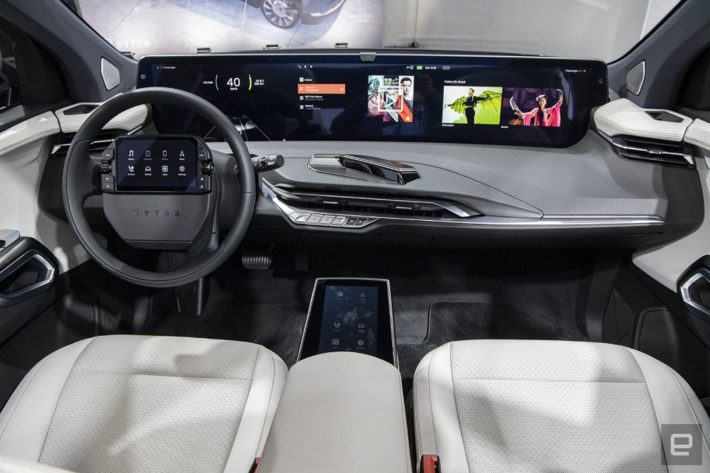 How Byton Is Trying To Bring Its Concept M Byte Suv To The Masses Byte Concept Tesla Model X