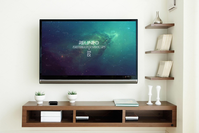 25 Tv Mockup Psd Designs For Designers Graphic Cloud Psd Designs Mockup Psd Design