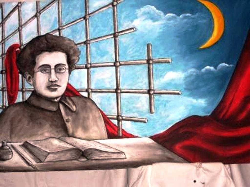 Ritratto di Antonio Gramsci reperito su google.