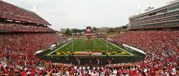 Maryland Football Stadium Google Search Football Stadiums Football Games Maryland
