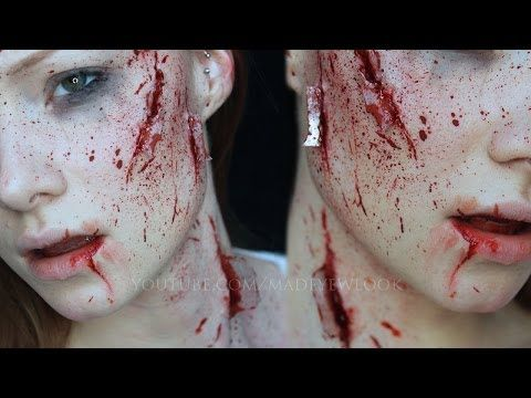 shattered glass fx  special fx makeup tutorial  youtube